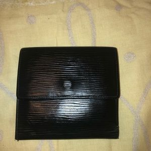 Louis Vuitton wallet black- open to offers